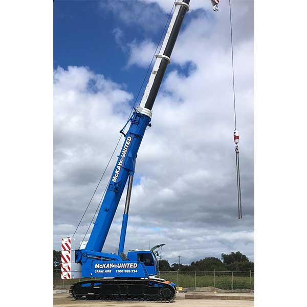 Crane hire 100t Hydraulic Crawler