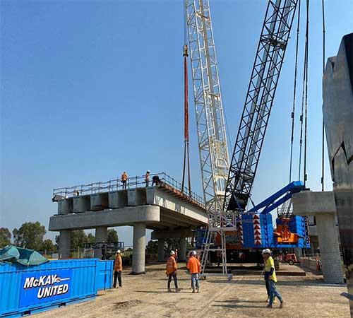 crane hire Bridges victoria