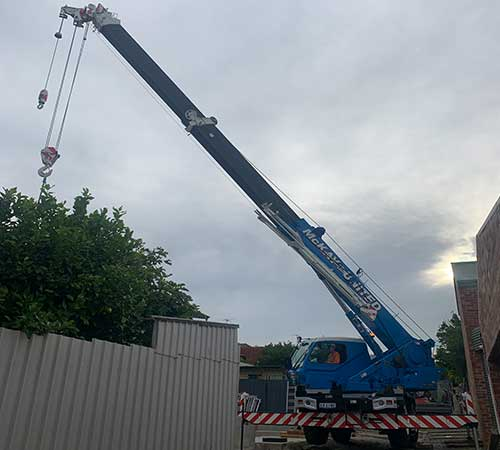 mobile crane General Hire australia