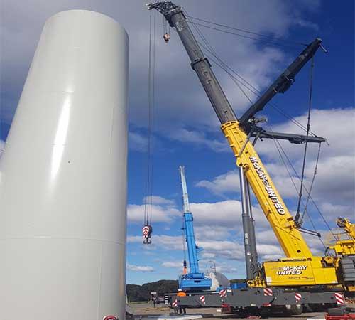 crane hire Infrastructure victoria