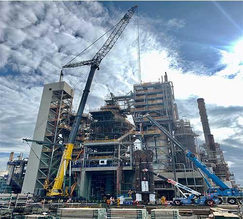 crane hire Petro Chemical victoria