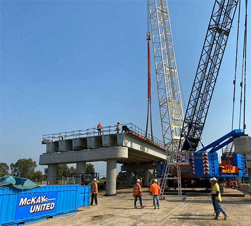 crane hire Rail victoria