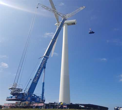 crane hire Wind victoria
