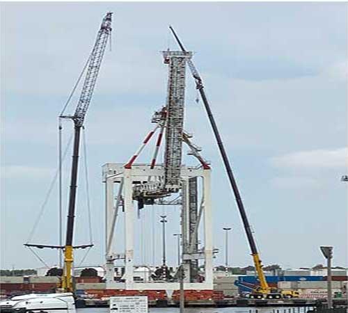 crane hire Water victoria